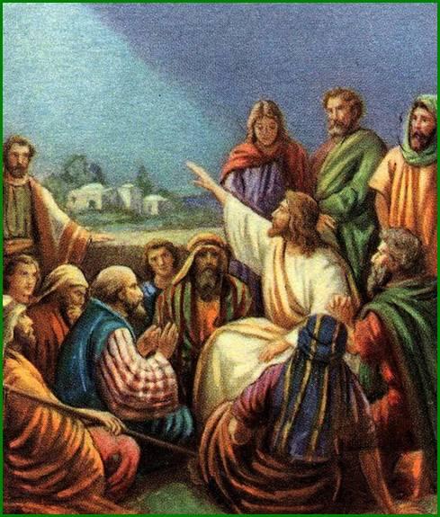 jesus y los apostoles: