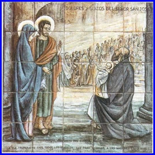 Resultado de imagen de Cuarto dolor y cuarto gozo de S.José en Torreciudad